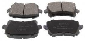 Bremsbeläge (4 Stück)